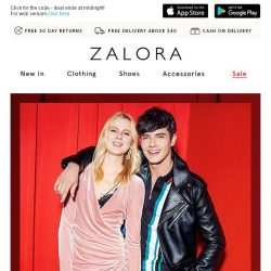 [Zalora] 💘 Our V-Day gift to you: 20% Off Sitewide