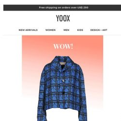 [Yoox] From 40% to 70% off - a promotion tailored to you!
