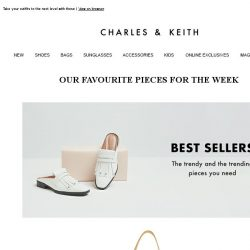 [Charles & Keith] Treat Yourself To These Standout Pieces