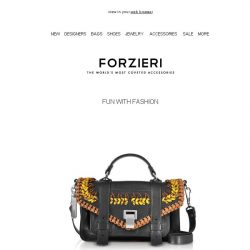 [Forzieri] 7 It Bags for Spring