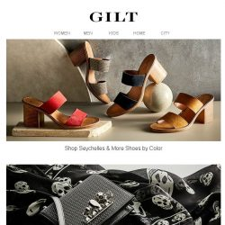 [Gilt] Seychelles & More Shoes by Color   Alexander McQueen