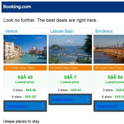 [Booking.com] Prices in Venice dropped again – act now and save more!
