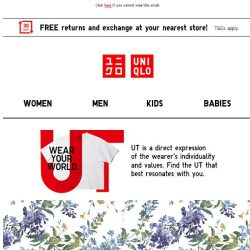 [UNIQLO Singapore] THIS WEEK'S NEW ARRIVALS