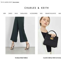 [Charles & Keith] New Arrivals to Elevate Your Everyday