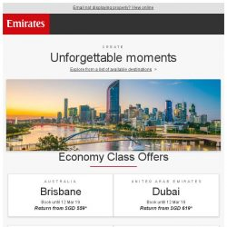 [Emirates] Book now for our best fares
