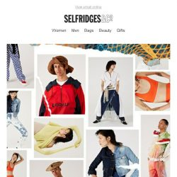 [Selfridges & Co] Introducing: our Bright New Things