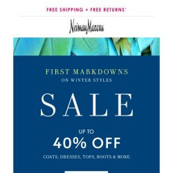 [Neiman Marcus] 40% off Eileen Fisher, Theory, Alice + Olivia & more