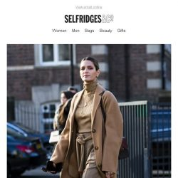 [Selfridges & Co] The street style trends we're all copying