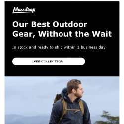 [Massdrop] Massdrop Made Outdoors & Ultralight Collection: In Stock With Fast Shipping