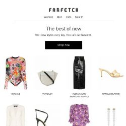 [Farfetch] New arrivals you need to see from Versace, Prada and more