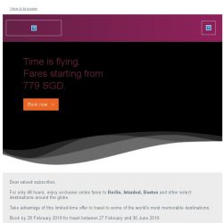 [Qatar] Exclusive online-only offers. Fares starting from 779 SGD.