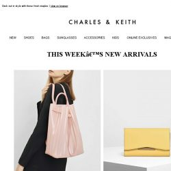 [Charles & Keith] Step Into The Week With All Things New
