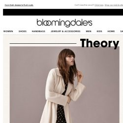[Bloomingdales] Modern must-haves from Theory
