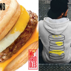 McDonald's: Be the First Lucky 100 to purchase the Limited Edition Sausage McGriddles® with Egg Meal & Receive Exclusive Merchandise!