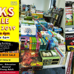 SG Book Deals: Book Warehouse Sale 2019 with Prices from $1 & All-You-Can-Fill $50 Box Sale!