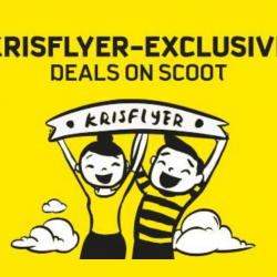 Scoot: Special Fares for KrisFlyer Members - 25% OFF ScootBiz & Economy Fares