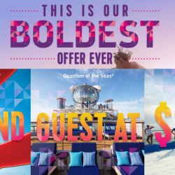 Royal Caribbean: 2nd Guest at only $3 on Port Klang, Malacca, Penang, Phuket Cruises!