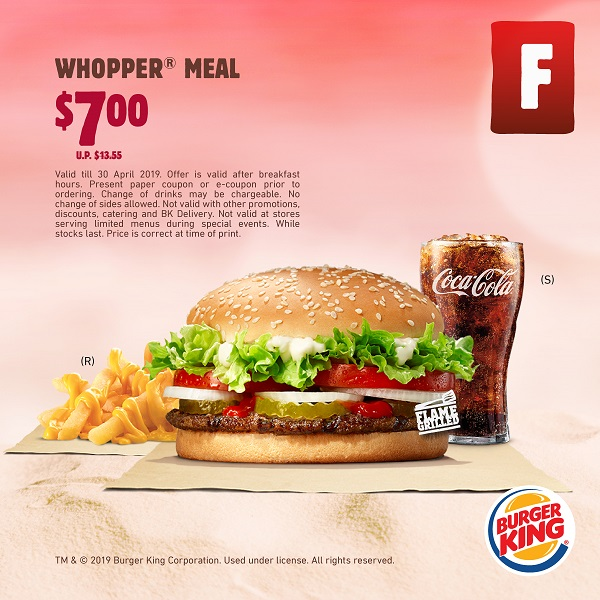 Burger King: Save Up to 50% with All NEW BK Coupons! Till 30