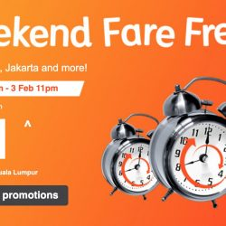 Jetstar: Weekend Fare Frenzy Sale with All-in Sale Fares to Bangkok, Bali, Jakarta & More from SGD51!