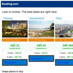 [Booking.com] Prices in Taichung dropped again – act now and save more!