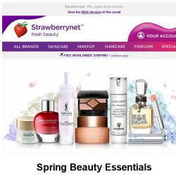 [StrawberryNet] 🌸🌺 Spring Beauty Essentials Up to 76% Off!