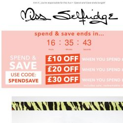 [Miss Selfridge] The key trend to party in right now