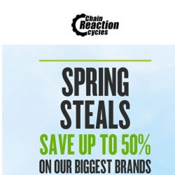 [Chain Reaction Cycles] Spring Steals Starts NOW! 🍃