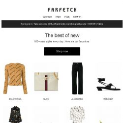 [Farfetch] New arrivals you need to see from Chloé, Balenciaga, Gucci and more