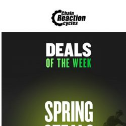 [Chain Reaction Cycles] Monday, Reveal Your Deals!