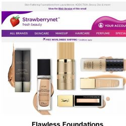 [StrawberryNet] Get ✨Flawless✨! Flattering Foundations Up to 63% Off