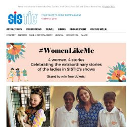 [SISTIC] Celebrate #WomenLikeMe this March and win tickets!