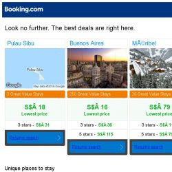 [Booking.com] Prices in Pulau Sibu are dropping for your dates!