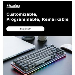 [Massdrop] The Massdrop ALT mechanical keyboard makes a return!