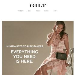 [Gilt] Spring is here. Dress the part.