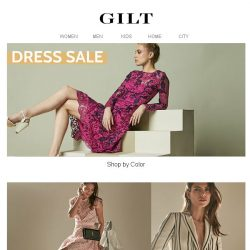 [Gilt] Shop Dresses by Color | LAST CHANCE: Up to 75% Off Mitchell Gold + Bob Williams