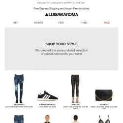 [LUISAVIAROMA] , looking for style advice?