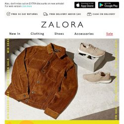 [Zalora] ENDS MIDNIGHT! ✨ Extra 30% Off
