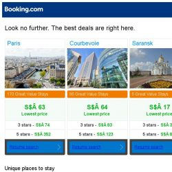[Booking.com] Paris, Courbevoie, or Saransk? Get great deals, wherever you want to go