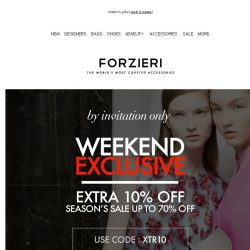 [Forzieri] 24h-Only | SALE exclusive