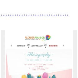 [Floweradvisor] Floriography: Learn Meaning Of Flowers. Check This Out!