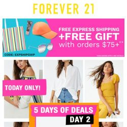 [FOREVER 21] ATTN: This is TOP secret...