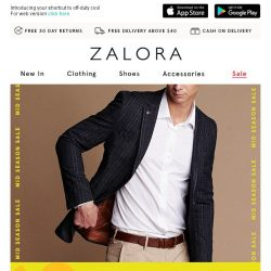 [Zalora] ☘️ LUCKY YOU: Buy 2 Get 20% Off!