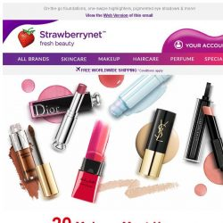 [StrawberryNet] ✨💄 20 Makeup Must-Haves for Crazy Busy People