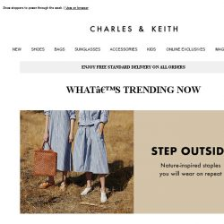 [Charles & Keith] Look Effortless With These Wardrobe Essentials