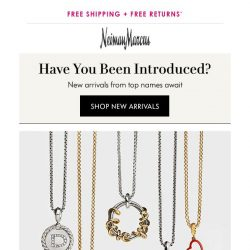 [Neiman Marcus] New David Yurman charms & pendants