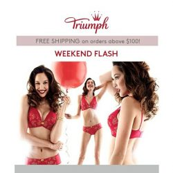 [Triumph] $20 Off First Set Weekend Flash!