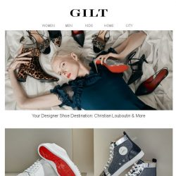 [Gilt] Christian Louboutin & More Designer Shoes | Luxe Spring Bags