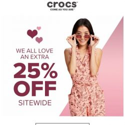 [Crocs Singapore] It's CRAZY😱 Extra 25% OFF Sitewide‼