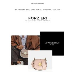 [Forzieri] Hip Hip Yucca! Say Hello to the New IT-Bag by Le Parmentier Paris
