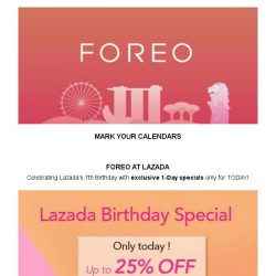 [Foreo] Celebrating with FOREO!